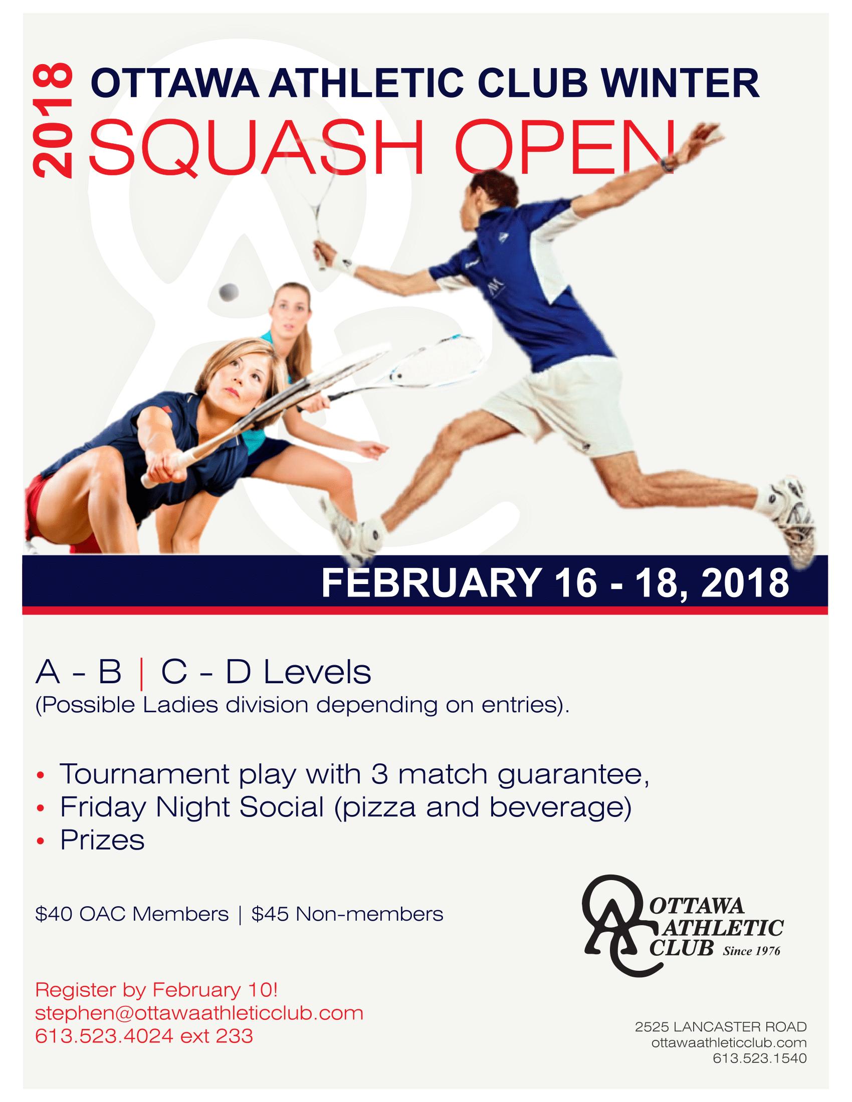 2018 OAC Open
